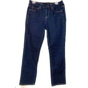 Calvin Klein dark wash skinny jeans